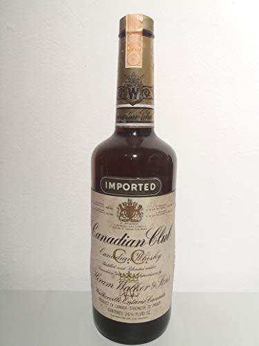 Canadian Club Whisky 1978 (year on tax strip)