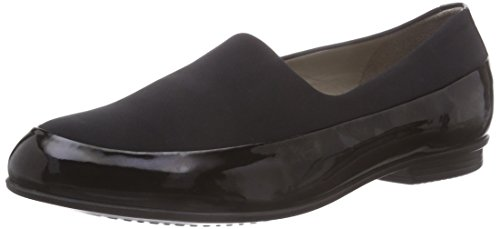 Ecco ECCO TOUCH BALLERINA, Damen Slipper, Schwarz (BLACK51707), 38 EU (5.5 Damen UK) (Leder-stretch-slipper)