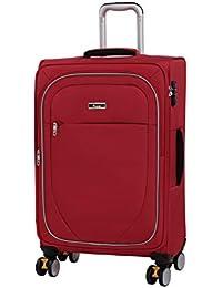 IT Luggage Lockdown 8 Wheel Lightweight Semi Expander Suitcase Medium with TSA Lock Maleta, 70