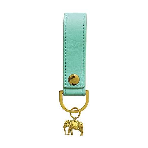 Portico Designs-Sky + Miller-Luz Azul Elefante llavero