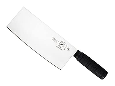 Mercer Culinary Asian Collection Santoprene Handle Chinese Chef's Knife, 8-Inch