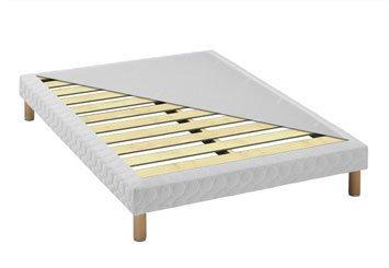 h v a s lection sommier tout bois renforc 140 x 190 4 pieds inspid co. Black Bedroom Furniture Sets. Home Design Ideas