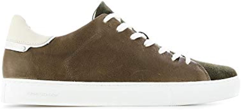 Crime London scarpe da da da ginnastica Uomo 11103PP1 Pelle verde | A Basso Prezzo  cdcf78
