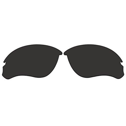 ACOMPATIBLE Ersatz Objektiv für Oakley-Jacke oo9228Sonnenbrille, Black - Polarized, S