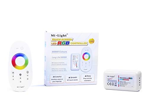 Kingled - kit mi-light telecomando e ricevitore wifi 2.4ghz per strisce led rgb 12v o 24v - milight remote controller fut025 - cod 0618