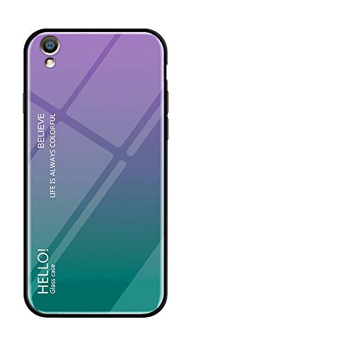 Forhouse Oppo R9 Plus Hülle, Slim Drop Protection Cover, Protective Shell Back - Purple