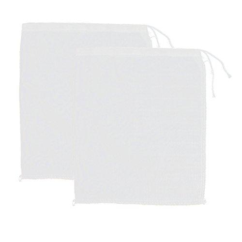 2 Stück Baumwollmischungen Suppe Sieb Lebensmittel Sieb Filter Masche Taschen