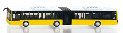 Siku 3736 - Autobús de línea articulado miniatura (escala 1:50), color rojo de SIKU
