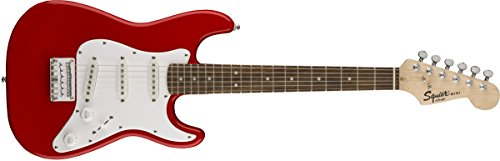 Fender Squier Mini Stratocaster Torino Red Guitarra Niños