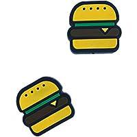 Titokiwi Tennis Dämpfer 2er Sets in verschiedenen Varianten (Bier, Pizza, Burger und Donut) Tennisdämpfer in verschiedenen Designs