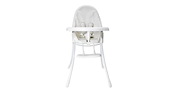 Matt White Frame with Coconut White Bloom Urban Highchair