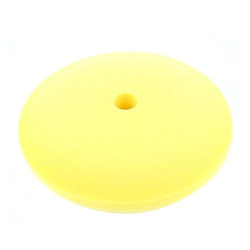 """Preisvergleich Produktbild sourcing map 9"""" 230mm gelb Schwamm Pad Polierpad Schleifpad für Auto Fahrzeug Polier de"""