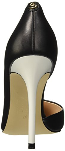 Guess Leather Pump, Scarpe con Tacco Donna Nero