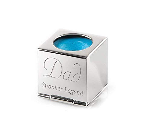 Personalised-Silver-Snooker-Pool-Chalk-Holder-Complete-With-Luxury-Velvet-Pouch-and-Box-Engraved-Enter-Your-Custom-Text