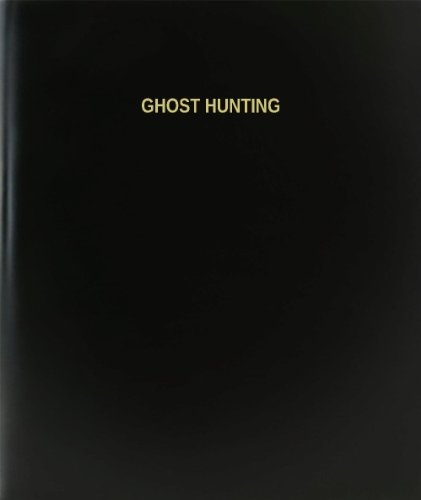 BookFactory® Ghost Hunting Log Book/Journal/Logbook - 120 Page, 8.5\