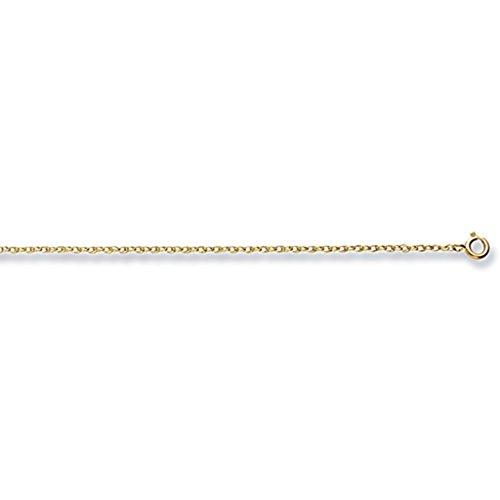 Pour Enfant Or 9carats tubulaire Crucifix Pendentif sur un collier de Prince Pays De Galles