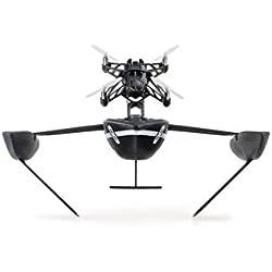 "Parrot Hydrofoil Orak - Dron ""dos en uno"" para pilotar por aire y agua, cuadricóptero y barco (cámara vertical 30 FPS, 18 Km/h, 9 minutos de vuelo, 20 metros de alcance, programable), color negro"