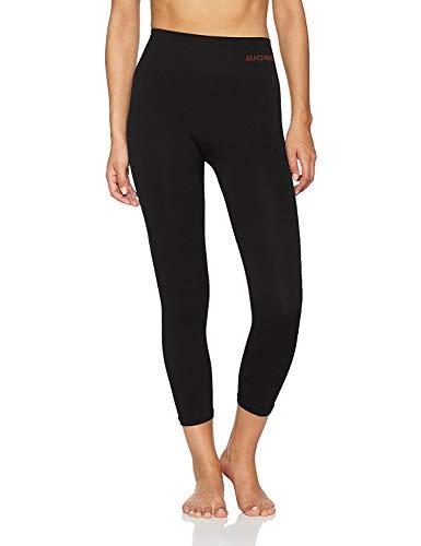 (X-Large, Black) - Women's Capri Pants 3/4 Leggings Tights for Yoga Training Gym by Sundried (Womens Puma Capris)