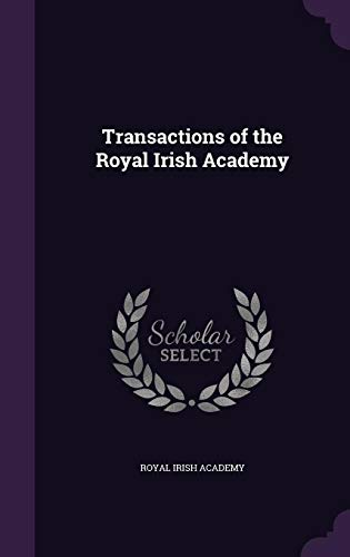Transactions of the Royal Irish Academy
