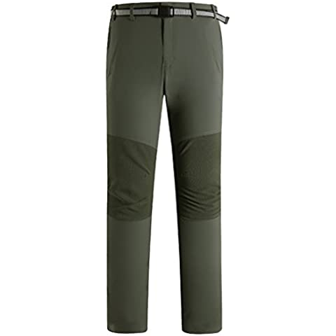 Beautiful Luv pantalones para hombre Thin Sección impermeable deportes al aire libre climbingtravel ciclismo Camping Pants, xxx-large