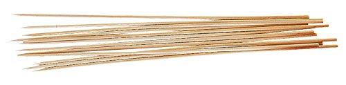 Fackelmann 56591   25 Pinchos Madera para Brochetas 30cm.