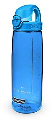 Nalgene Trinkflasche \'Everyday OTF\' - 0,7 L (blau, mit Namensgravur, 0,7 l)