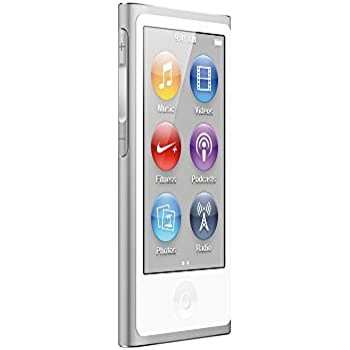 Apple iPod Nano 16GB (7. Generation) silber