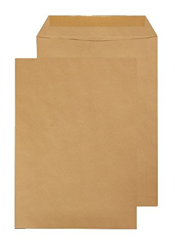 Blake C4324x 229mm, 80g/m², bolsillo engomado Manila sobres (Pack de 15)
