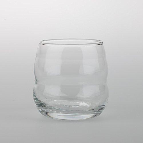 Einzelglas Glas - Mythos Weiß - mit Blume des Lebens - Lasergravur - NEU spülmaschinenfest