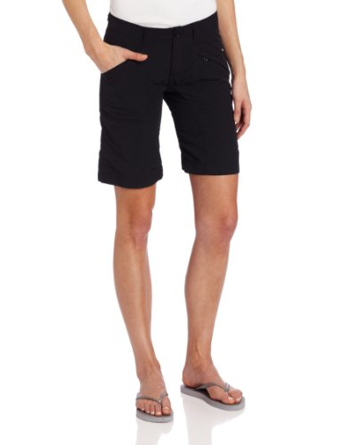 Jet Nylon Shorts (Royal Robbins Backcountry Damen Walker Shorts, damen, jet black)