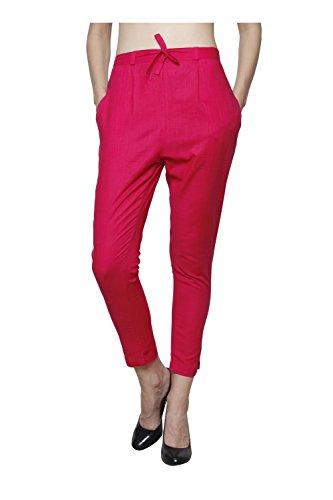 Pistaa Women`s Cotton Slub Rani Pink Color Best Cotton Slub Stylish Readymade...