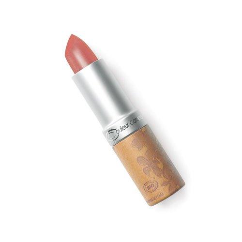 Couleur caramel Lippenstift nº224 Braune Farbe verrostet perlmutterartig Bio