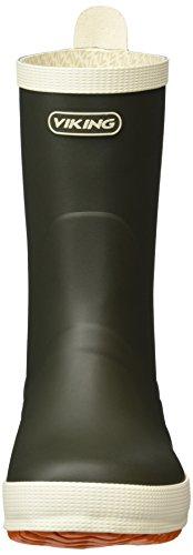 Viking Unisex-Erwachsene Seilas Gummistiefel Grün (Olive 37)