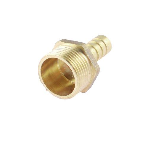 3/10,2cm PT Stecker 10mm Schlauch Schlauchtülle Nippel Gas Messing Schnellkupplung Anschluss (3/4 Gas)
