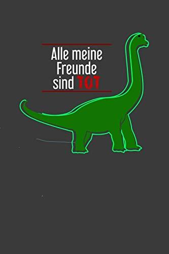 Alle meine Freunde sind tot: Liniertes DinA 5 Notizbuch für Dino Dinosaurier und Reptilien-Fans T-Rex - Reptilien Kostüm