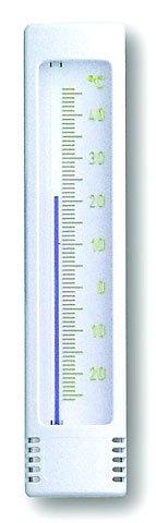 Preisvergleich Produktbild TFA Dostmann Innen-Außen-Thermometer weiß / gold,  klein