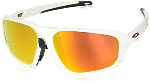 Oakley Unisex-Erwachsene Field Jacket OO9402 Sonnenbrille, Weiß (Blanco), 0