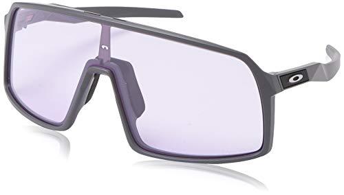 Ray-Ban Herren 0OO9406 Sonnenbrille, Schwarz (Matte Dark Grey), 40