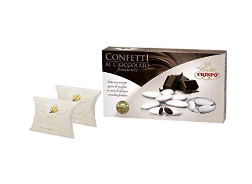 Scatoline portaconfetti bustina 25 pz + 1 kg confetti + bigliettini (prima comunione 81677)
