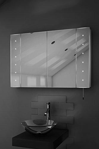 Spiegelschrank mit Batteriebetrieb – 90 cm - 8