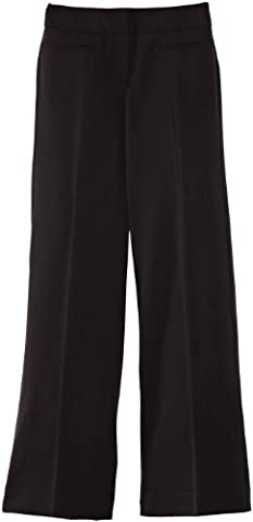 Blue Max Banner Senior Girl's Grenwich with Fly School Trousers, Charcoal, W34/L33