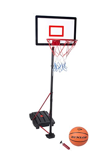 Dunlop Basketballkorbset Basketballkorb Basketball Norm wie Basketball und Pumpen