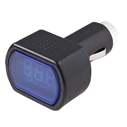 Zerama Mini Digitale Batteria Auto voltmetro 9-31V in Auto per Volt della Batteria Tester del Calibro Detector