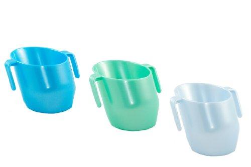 Doidy Cup - Arctic Pearl, Azure Blue Pearl & Mint Pearl *3 ITEM BUNDLE* (Versand aus UK) Azure-cup