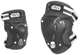 Disney Star Wars Knie- & Ellenbogenschoner Set schwarz