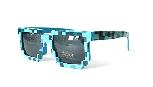 Gafas de sol diseño píxeles. SGP1150-H-Blue 5