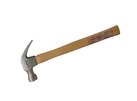 Silverline HA03B 8 Ounce Hardwood Shaft Claw Hammer