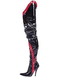 Kassi opeya Crotch 09.1808?Tacón Negro o Rojo gr 36?–?46, Color Negro, Talla 36