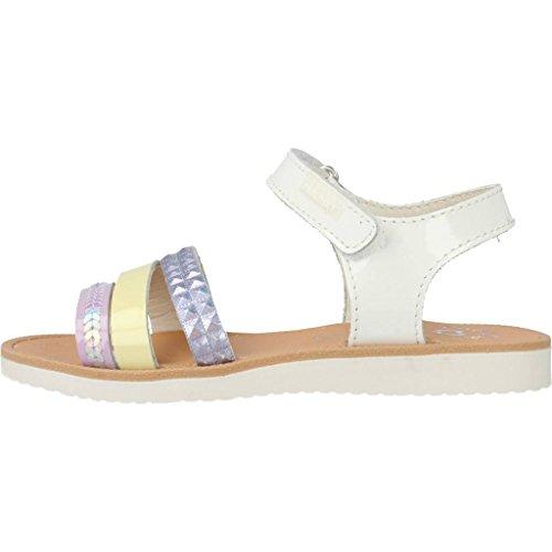 Tong, couleur Blanc , marque PABLOSKY, modèle Tong PABLOSKY RESAP Blanc Multicolore
