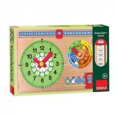 Goula–orologio calendario, in italiano (diset 51320)